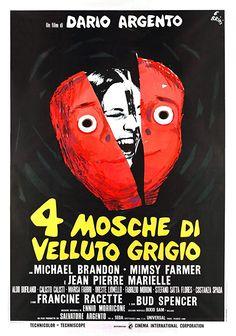 Four Flies on Grey Velvet - 4 mosche di velluto grigio (1971)