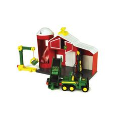 $41.99 - This interactive vehicle and play set exemplifies the fun of working together!  Includes a motorized Gator, a multi-position elevator, a 360° crane with magnetic connection, silo with storage, fuel and a mechanic station. Power Drive Lift and Load Barn Includes:r• Motorized Gatorr• Mutli-position elevatorr• 360 degree crane with magnetic connectionr• Storage in Silor• Fuel and Mechanic Station