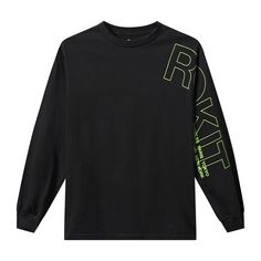 The Bright Long Sleeves T-Shirt Hang Ten, Stylish Mens Fashion, Screen Printing Shirts, Fashion Brand, Men's Fashion, Tee Design, Graphic Design, Graphic Shirts, Casual T Shirts