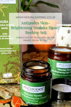 Antipodes Skin-Brightening Manuka Honey Beehive Set Beauty Care, Beauty Hacks, Beauty Tips, Manuka Honey Mask, Wrinkle Remedies, Blemish Remover, Cleanse Me, Skin Mask, Anti Aging Tips