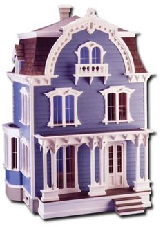 Beautiful Greenleaf Willowcrest 2nd Empire Style Dollhouse Kit ~ New In Box #Greenleaf