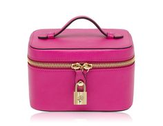 Mulberry - Jewellery Case in Mulberry Pink Glossy Goat