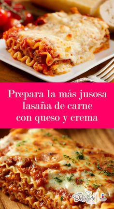 Receta de lasaña de carne molida y queso manchego | CocinaDelirante