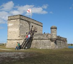 Stop 2: Fort Matanzas - North of Washington Oaks, south of St. Augustine.