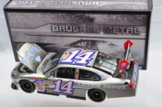 1/24~ACTION Tony Stewart #14 Office Depot 2009 Impala SS Brushed Metal 1/1056