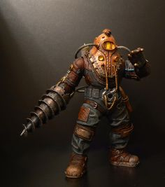 Subject Delta Big Daddy (Bioshock) - Toy Discussion at Toyark.com