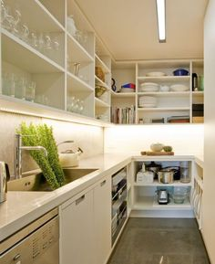 enough room for sink in pantry?