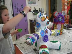 Paper mache for the day of the dead?