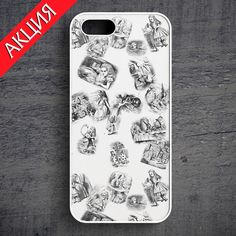 """Alice Wonderland #2"" Case for iPhone 4/4S, 5/5S, 6. Worldwide shipping. Store's url http://vk.com/market-71763847"