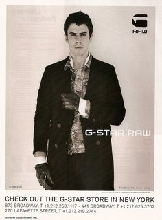 G-Star Raw - Toby Kebbell