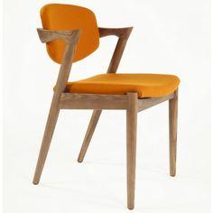 Hans Andersen Home Levanger Arm Chair (Orange) Yellow Dining Chairs, Dining Arm Chair, Dining Room Bar, Dining Table, Arm Chairs, Kitchen Chairs, Bar Furniture, Furniture Deals, Dining Room Furniture
