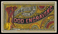 D. A. Carlton & Randolph Knapp / What Cheer Show Print   Sheaff : ephemera