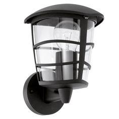 LAMPA elewacyjna ALORIA 93097 Eglo ścienna OPRAWA zewnętrzna IP44 outdoor czarny