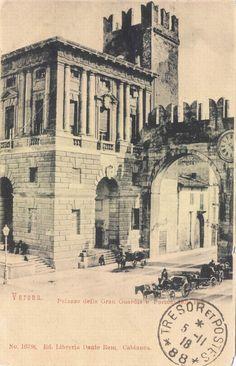 Verona - Palazzo della Gran Guardia - 1880 ca