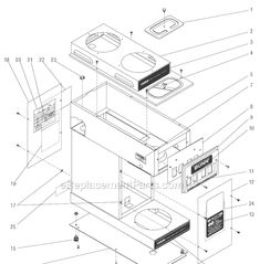 Commercial Coffee Makers Parts