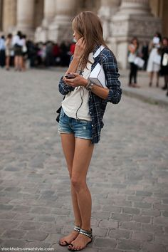 Simple Style.  now I want this shirt.