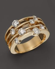 Diamond Band in 14K Yellow Gold, 1.50 ct. t.w. - 100% Exclusive