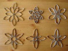 Paper Roll Bloemen