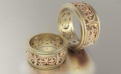 Обручальные кольца VGOK0178