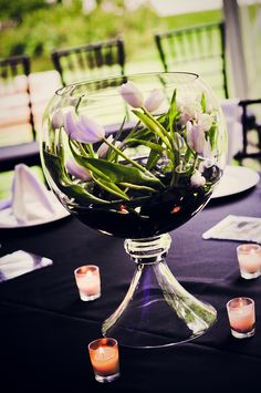 Beautiful and romantic tablescape! (photo by A.K. Vogel)