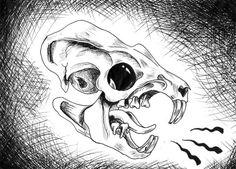 Rat Skull by VanGoor on DeviantArt Small Skull, Rats, Deviantart, Tattoos, Tatuajes, Tattoo, Tattos, Tattoo Designs