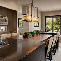 Open Kitchen Island Dining Table Design, Pictures, Remodel, Decor and Ideas - page 2