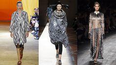S/S 2016 women's trends: Noir et blanc tribal