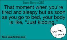Every. Night.