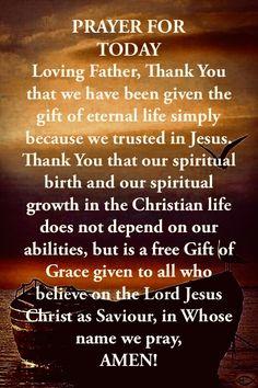 Good Prayers, Powerful Prayers, Prayers For Strength, Bible Prayers, Bible Verses Quotes Inspirational, Inspirational Prayers, Religious Quotes, New Years Prayer, Prayer For Today