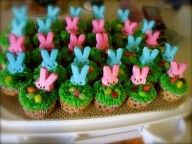 Cute and SIMPLE idea for Easter cupcakes!