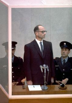 December 15th, 1961. Adolf Eichmann is sentenced to death.