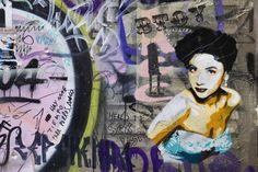 Classic Street Art by Andrea Michaelsson and Ilia Mayer