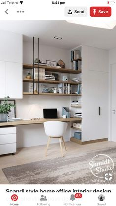 Looking some home office remodel ideas? Creating a comfy home office is a must. We can help you. Check out our home office ideas here and get inspired Home Office Space, Home Office Decor, Office Ideas, Office Furniture, Small Office, Office Nook, Home Office Storage, Furniture Plans, Office Inspo