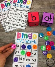 CVC Words - Planning Playtime