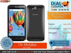 Need A Mobile ?  Then Buy A Mobile Which Has Features, Looks, Quality, Technology, Service And More. With Dial A Coupon Get The Best Deal On Mobile Phones. Call Dial A Coupon And Get Your Discount Coupon Now.    For More Discount Deals Please Visit: www.DialACoupon.com