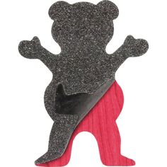 Grizzly Grip Tape Cut-Out Bear Skate Sticker - available now at Warehouse Skateboards! #whskate #skateboarding