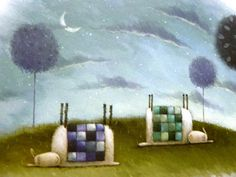 More Rob Scotton - quilts on sheep!