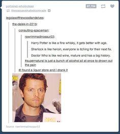 A very accurate description of Supernatual Fandom