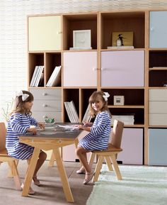 Back to school: How about using these furniture in the children's room? Back to school: How abou Toy Cupboard, Baby Room Colors, Luxury Decor, Kids Bedroom, Bedroom Ideas, Kids And Parenting, Girl Room, Playroom, Shelving