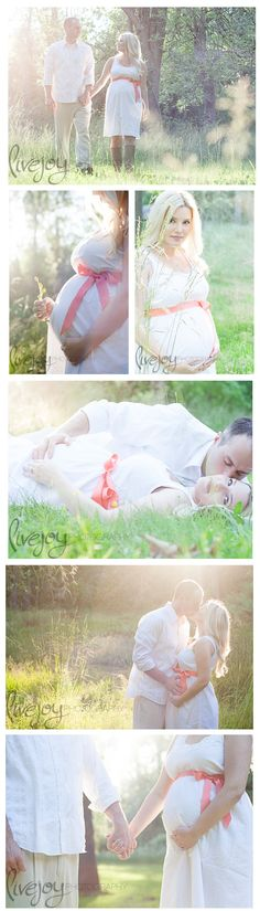 A little too over exposed for me, but I love the poses! Maternity Photography #LiveJoyPhotography #maternity