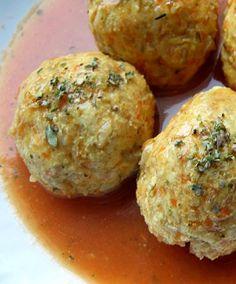 Pulpeciki drobiowe z sosem pomidorowym | Zdrowe przepisy Pauliny Styś