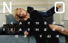 Amber Valletta for Stella McCartney F/W 16/17 Campaign | The Fashionography