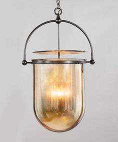 Check out the Urban Smokebell light fixture from The Urban Electric Co.