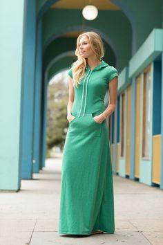 Laguna Maxi Dress Green