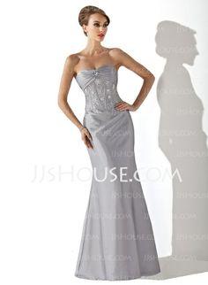 Bridesmaid Dresses - $126.99 - Sheath Sweetheart Floor-Length Taffeta Bridesmaid Dress With Ruffle Beading (007001039) http://jjshouse.com/Sheath-Sweetheart-Floor-Length-Taffeta-Bridesmaid-Dress-With-Ruffle-Beading-007001039-g1039