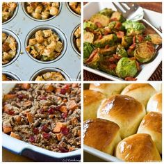 IMAGES THANKSGIVING SIDES RECIPES | Thanksgiving Side Dishes and more...get the recipes at www ...