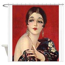 Art Deco Flapper Art Print 8 x 10 - Roaring - Jazz Age - Classy Pin Up with Bob Luxurious Art Vintage, Vintage Images, Vintage Posters, Vintage Ladies, Belle Epoque, Art Nouveau, Art Deco Stil, Art Deco Posters, Illustration Art