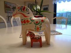 Dala horses by petrusko.rm, via Flickr