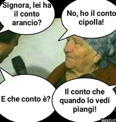 Lei ha il conto arancio | BESTI.it - immagini divertenti, foto, barzellette, video Funny Twilight, Funny Images, Funny Pictures, Happy New Year Greetings, Savage Quotes, Me Too Meme, Funny Moments, Funny Cute, Funny Posts