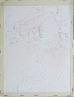 aquarelle-watercolor-baraque-neige-5